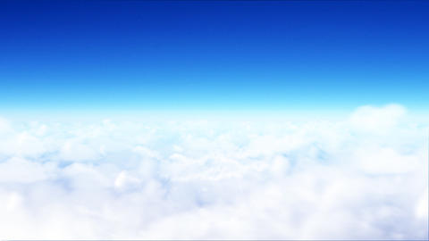 sea of clouds Stock Video Footage