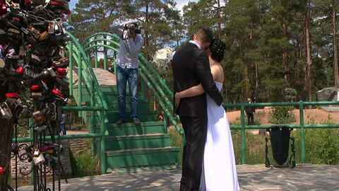 Wedding. Photographer Stock Video Footage