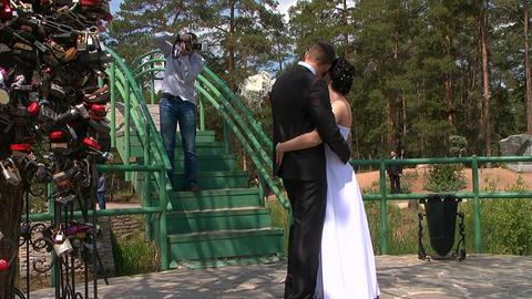 Wedding. Photographer Stock Video Footage