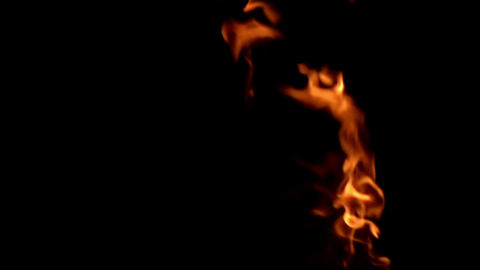Burning Gas Stock Video Footage