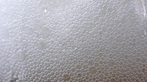 Lots of beer bubbles Stock Video Footage