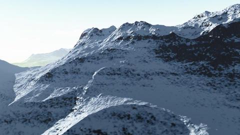 Mountain range 2 Stock Video Footage