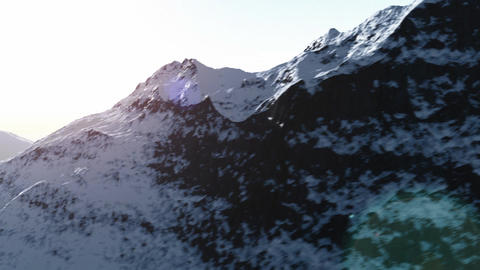 Mountain range 2 Animation