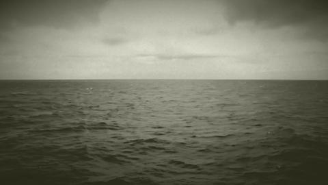 sea vintage Stock Video Footage