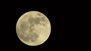 2012 Supermoon Large Bright Moon 24P Stock Video Footage