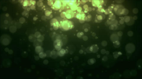 Green particles, Loop Stock Animation Stock Video Footage