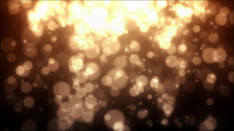 Gold Particles, Loop Stock Animation CG動画素材