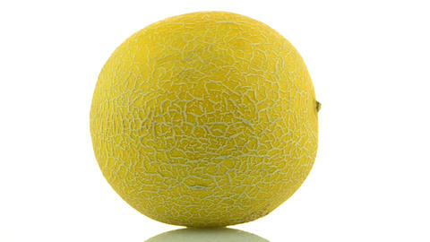 Yellow melon Stock Video Footage