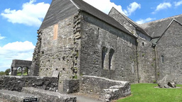 Ballintubber Abbey A Stock Video Footage