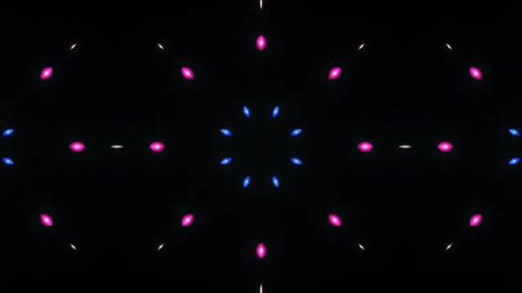 Disco Wall SN A 1h HD Stock Video Footage