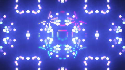 Disco Wall SN A 3h HD Stock Video Footage
