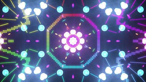 Disco Wall SN A 4d HD Stock Video Footage