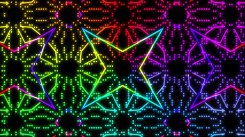Disco Wall SN A 5d HD Stock Video Footage