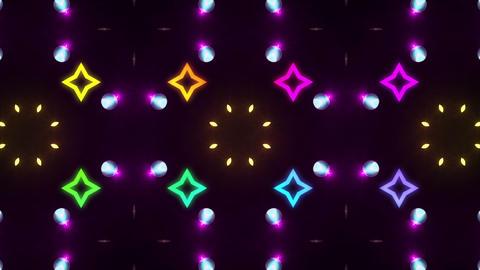 Disco Wall SN A 6b HD Stock Video Footage