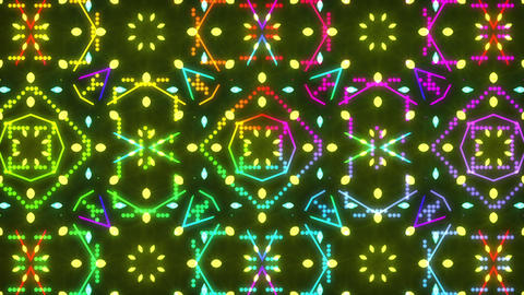 Disco Wall SN A 7d HD Stock Video Footage