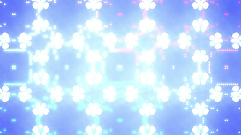 Disco Wall SN A 7h HD Stock Video Footage