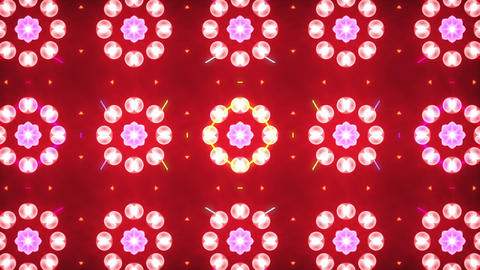 Disco Wall SN A 8h HD Stock Video Footage