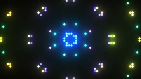 Disco Wall SN B 3e HD Stock Video Footage