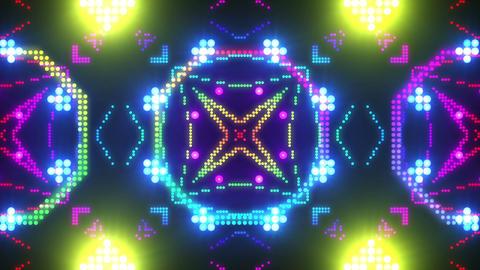 Disco Wall SN B 4c HD Stock Video Footage