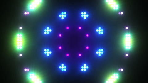 Disco Wall SN B 4e HD Stock Video Footage