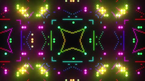 Disco Wall SN B 4g HD Stock Video Footage