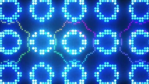 Disco Wall SN B 5g HD Stock Video Footage