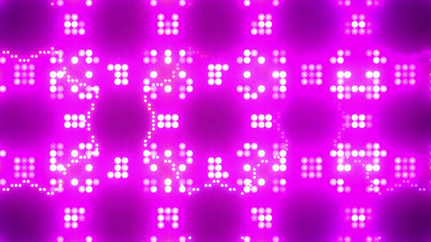 Disco Wall SN B 5g HD Stock Video Footage