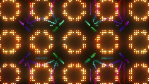 Disco Wall SN B 6g HD Stock Video Footage