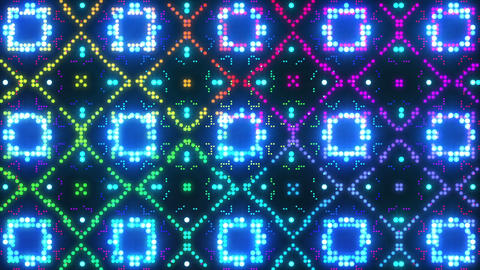 Disco Wall SN B 7c HD Stock Video Footage