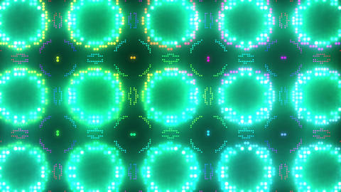Disco Wall SN B 7c HD Stock Video Footage