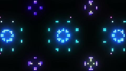 Disco Wall SN B 7e HD Stock Video Footage