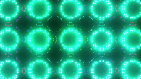 Disco Wall SN B 7g HD Stock Video Footage