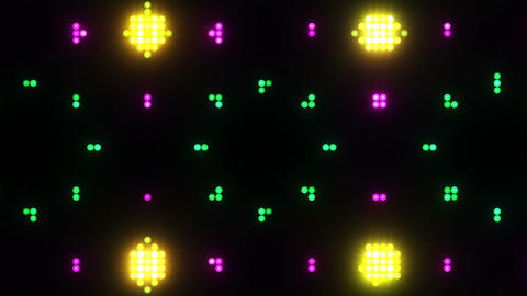 Disco Wall SN B 8e HD Stock Video Footage