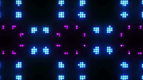 Disco Wall SN B 8e HD Stock Video Footage