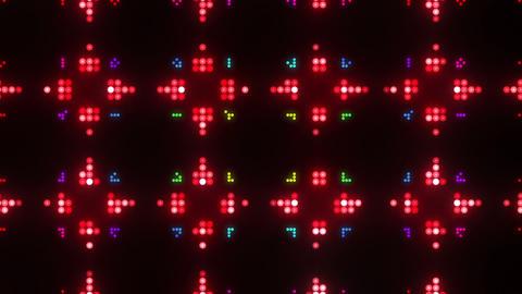 Disco Wall SN B 8g HD Stock Video Footage