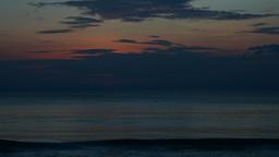 Sea sunset. Timelapse Stock Video Footage