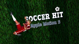 Soccer Hit Apple Motionテンプレート