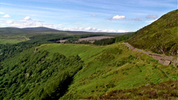 Motering in Wicklow Stock Video Footage