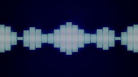 Blue Wave Horizontal Stock Video Footage