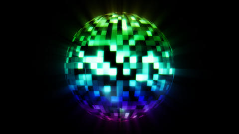 Discoball Color Animation