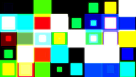 discosquares3 HD Animation