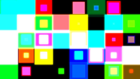 discosquares3 HD Stock Video Footage
