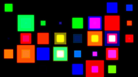 Discosquares2 Stock Video Footage