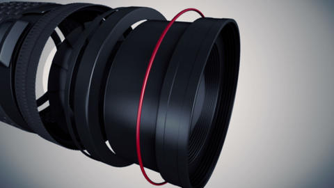 Lens Creation Stock Video Footage