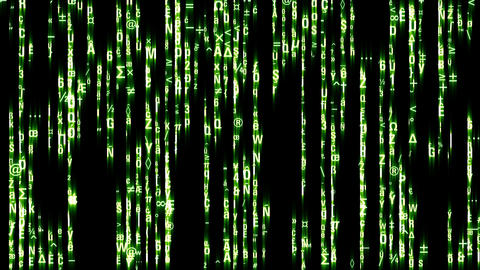 Matrix Style stock footage