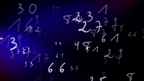 Numbers Loop Animation