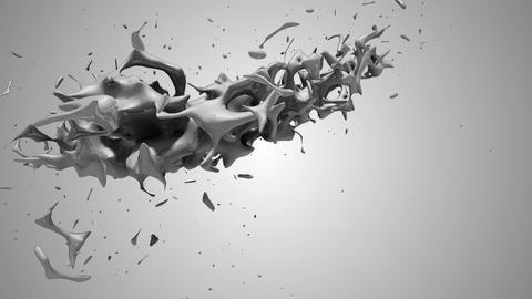 Splash 360 turn grey Animation