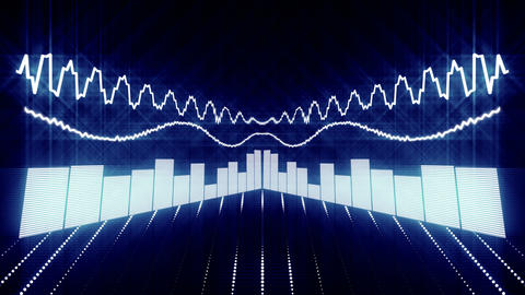 Waveform Stock Video Footage