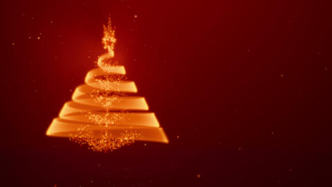 Xmasstree Red Lefty Stock Video Footage
