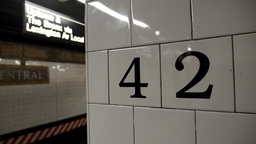 New York Subway Stock Video Footage